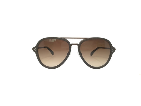 Oak Wood Hayden Aviator Sunglasses