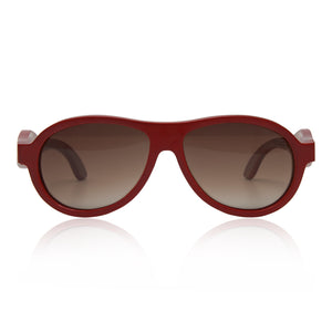 Bamboo Willow Aviator Sunglasses