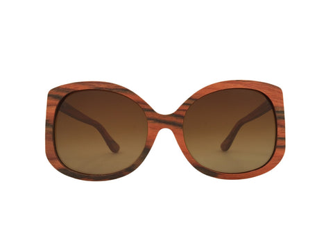 Rosewood Scarlett Rectangle Sunglasses