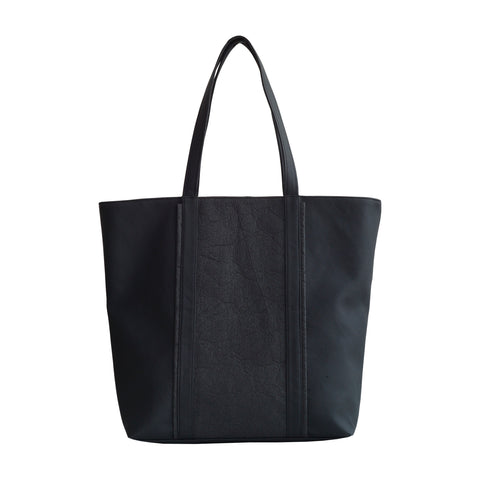 JAVA shopping bag - Pinatex black