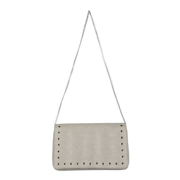PARIS BY NIGHT TAUPE EVENING CLUTCH