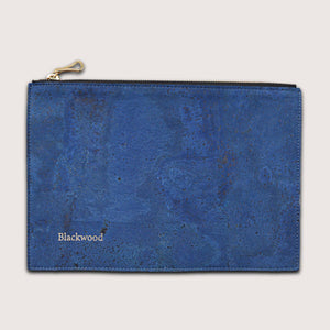 The Compact Pouch-Deep Sea Blue