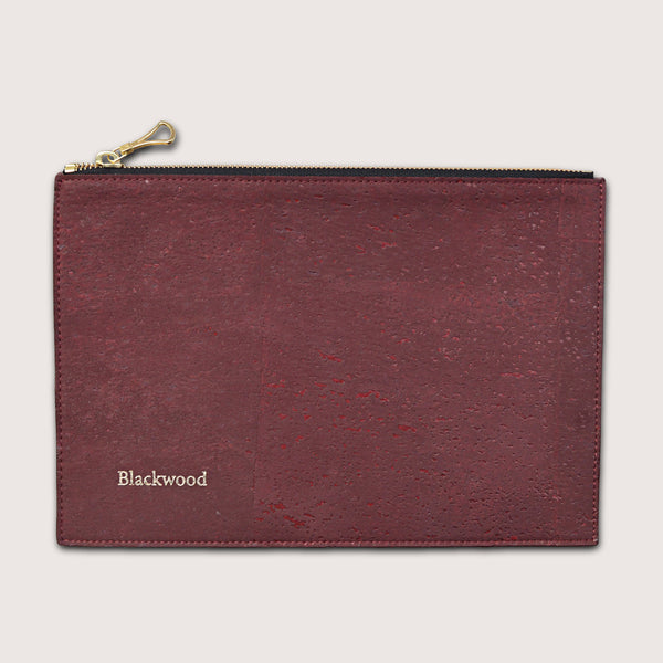 The Compact Pouch-Majestic Burgundy