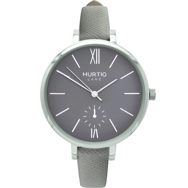 AMALFI WOMEN'S WATCH, SILVER/GREY/GREY