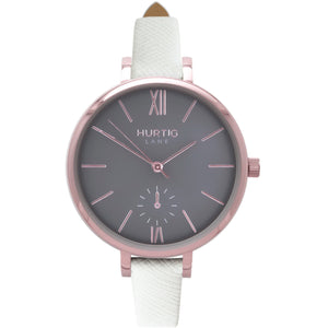 AMALFI WOMEN'S WATCH, ROSE GOLD/GREY/WHITE