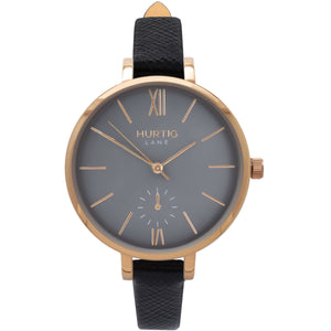 AMALFI WOMEN'S WATCH, GOLD/GREY/BLACK