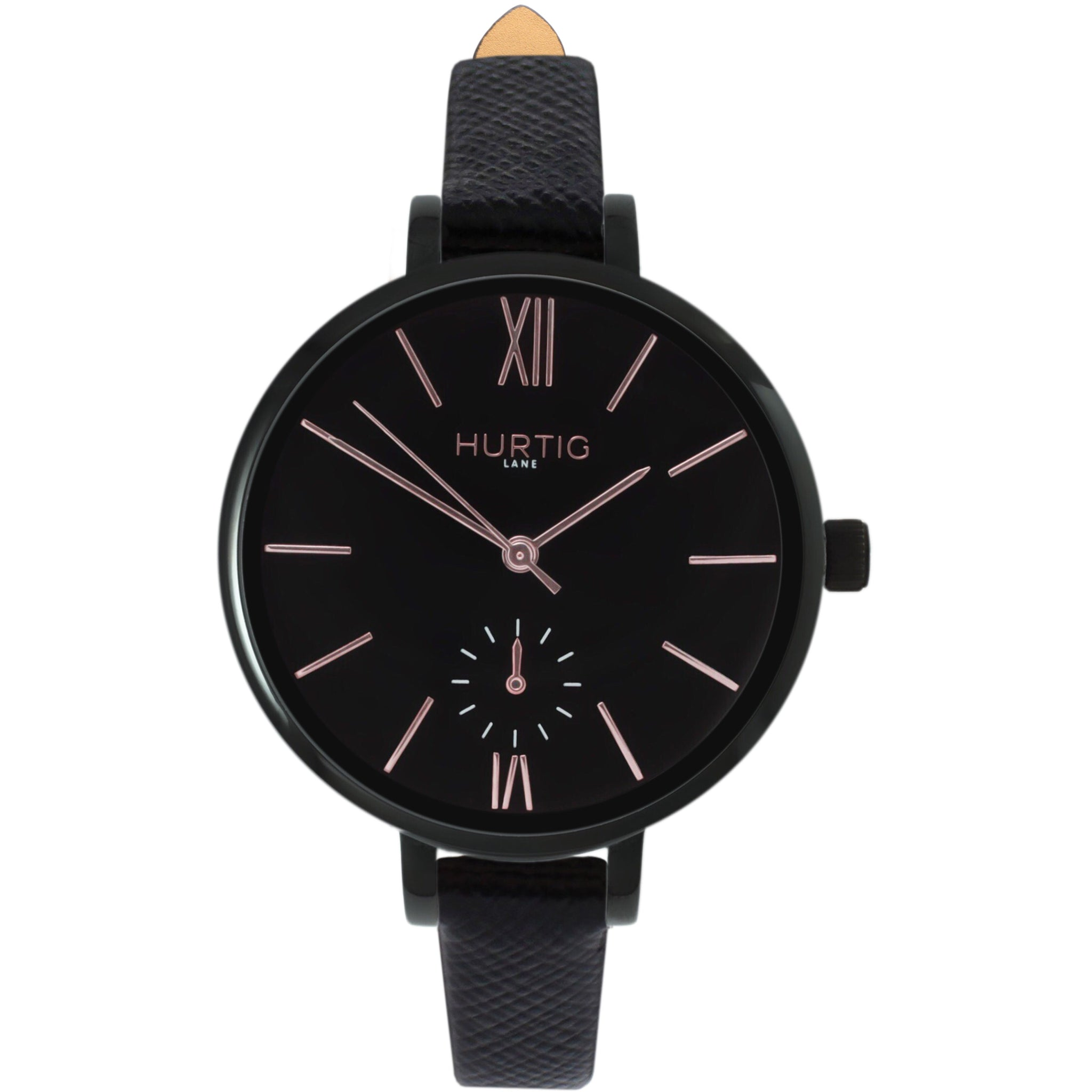 AMALFI WOMEN'S WATCH, BLACK/BLACK/BLACK