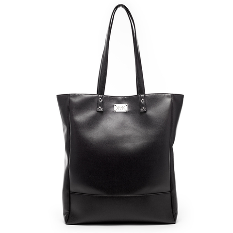 PARIS CITY BLACK SHOPPING BAG