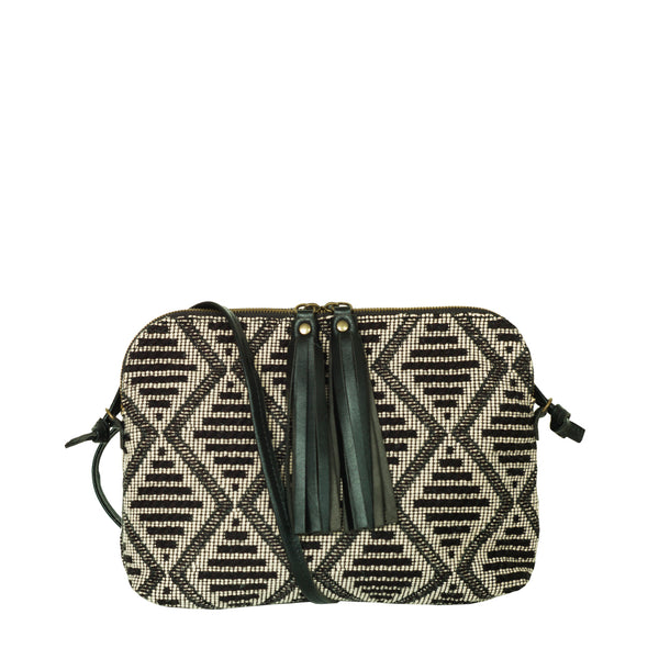 TASMAN bag - Gray jacquard