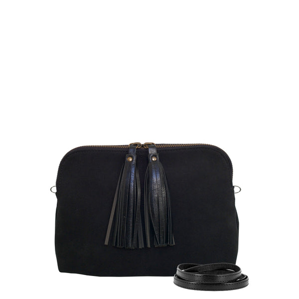 TASMAN bag - Black Velvet