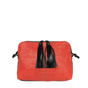 TASMAN bag - Red Piñatex