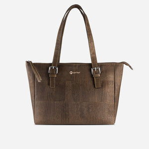 SATCHEL BAG-BROWN