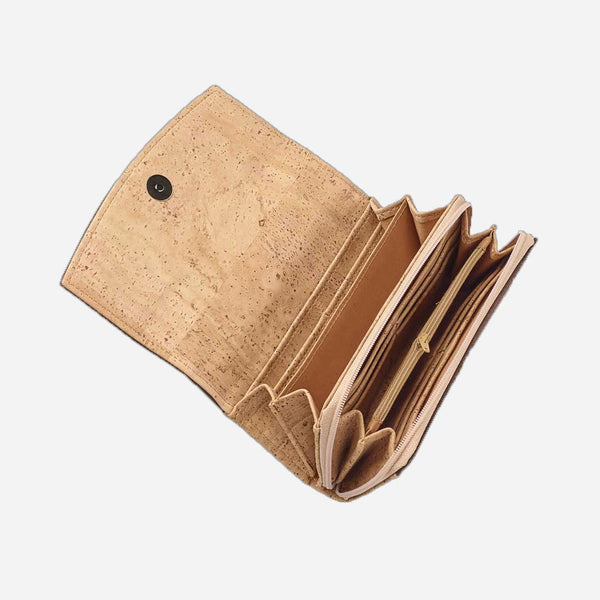 CONTINENTAL CORK WALLET