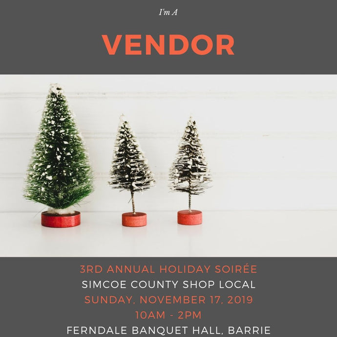 Simcoe County Shop Local 3rd Annual Holiday Soiree