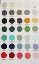 Country Chic Paints Current Colour Chart and Lustrum Colour Chart