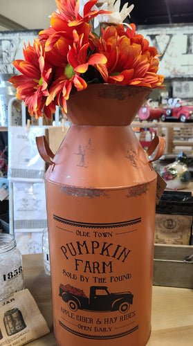 Pumpkin Farm Canister - Large