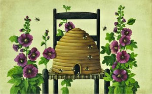 """Beehive"" Indoor Mat"