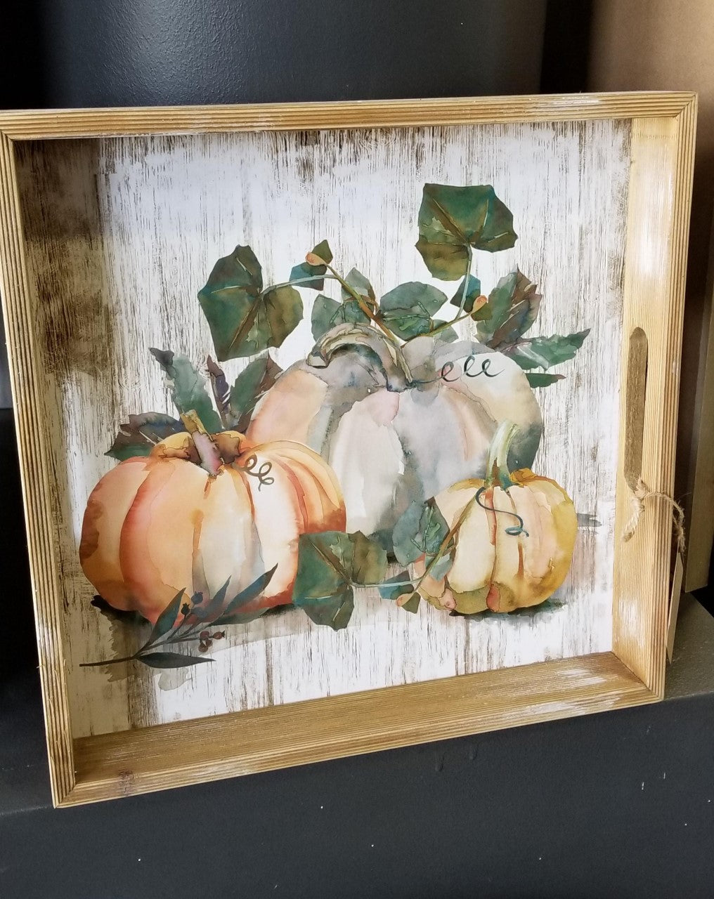 Pumpkin Tray - small