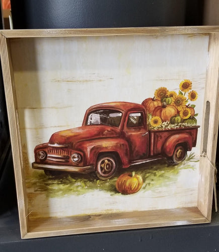 Vintage Truck Tray