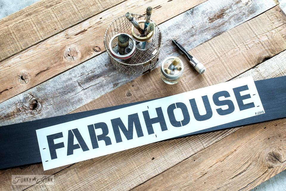 Farmhouse Stencil - small