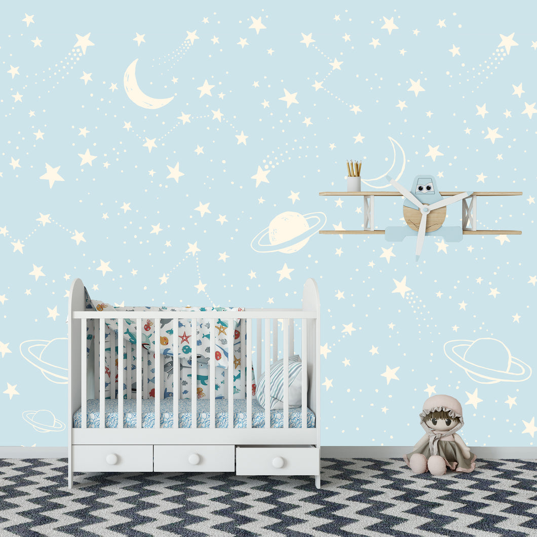 Stars Wallpaper for baby