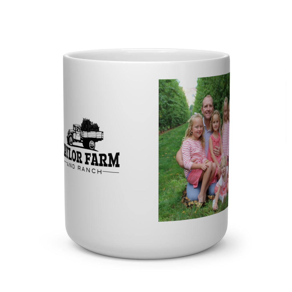 Taylor Farm Ranch Heart Shape Mug