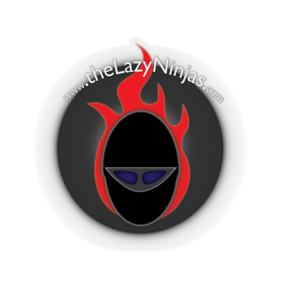 the Lazy Ninjas - Kiss-Cut Stickers