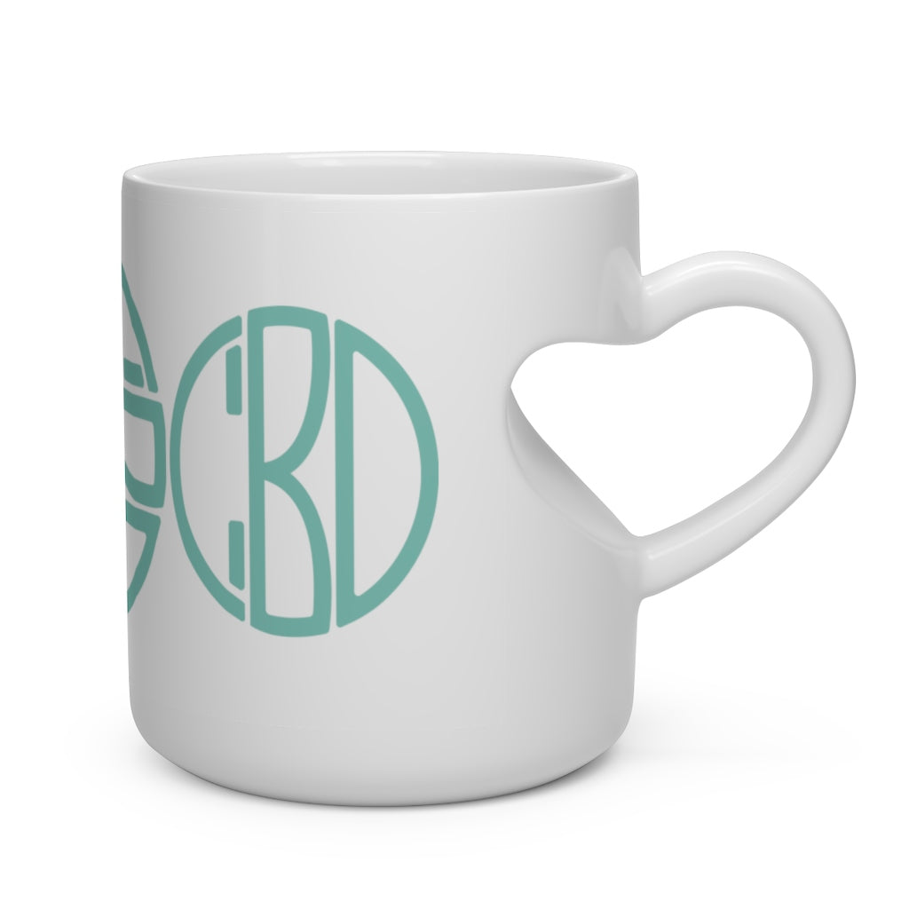 Chill - Heart Shape Mug