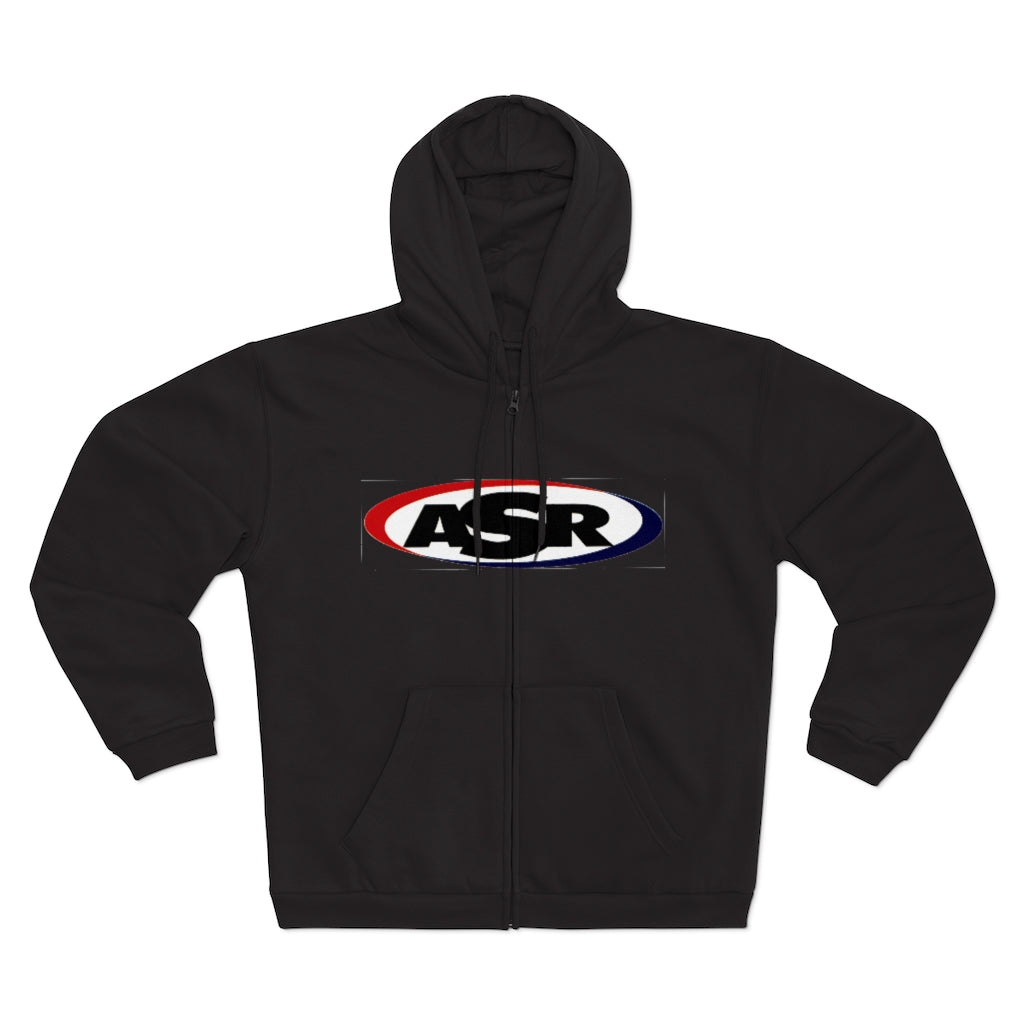 ASR Unisex Hooded Zip Sweatshirt