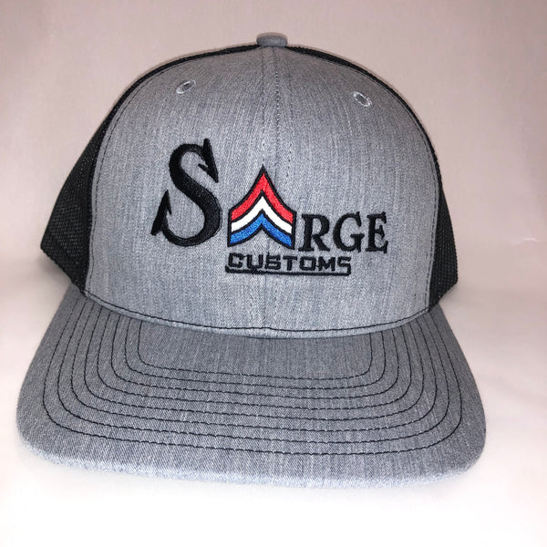 Snapback Trucker Cap | Heather Grey/Blk