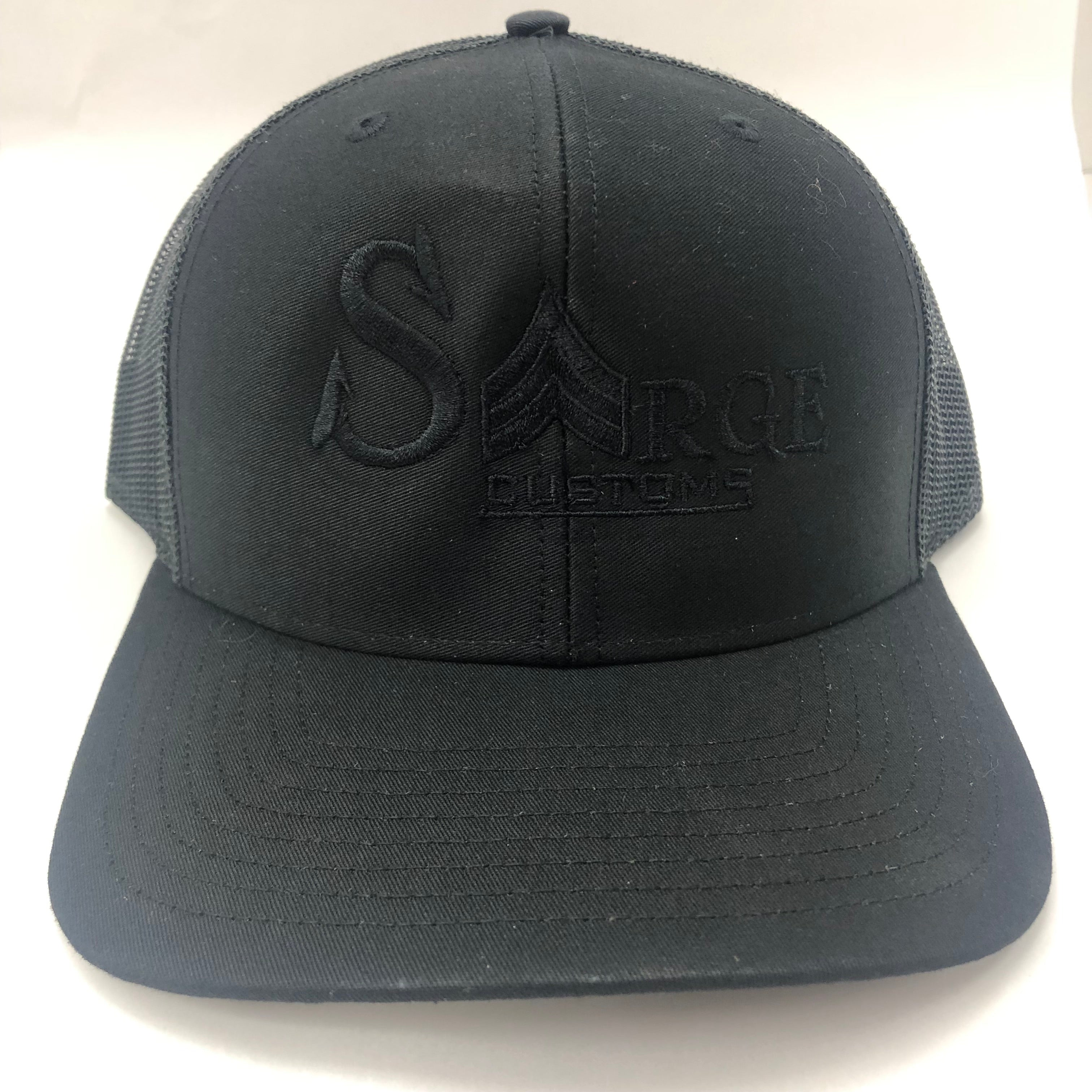 Snapback Trucker Cap | Blacked Out