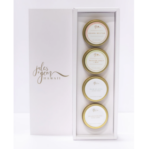 4 pack candle set