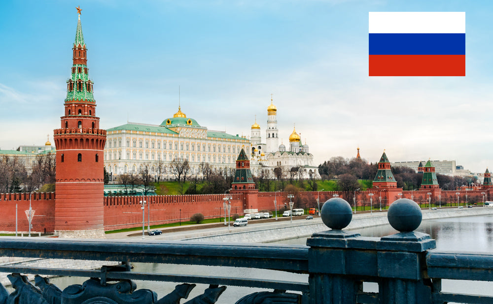The Moscow Kremlin in Russia