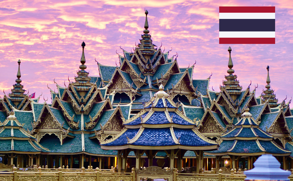 Ancient City architecture in Thailand