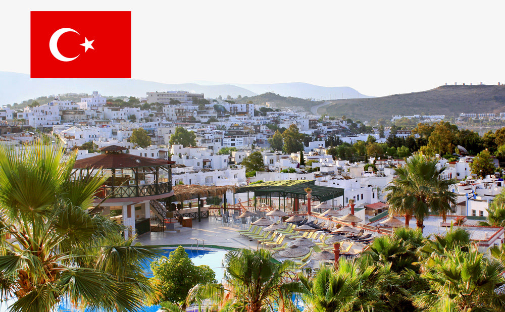 The city of Bodrum in Turkey