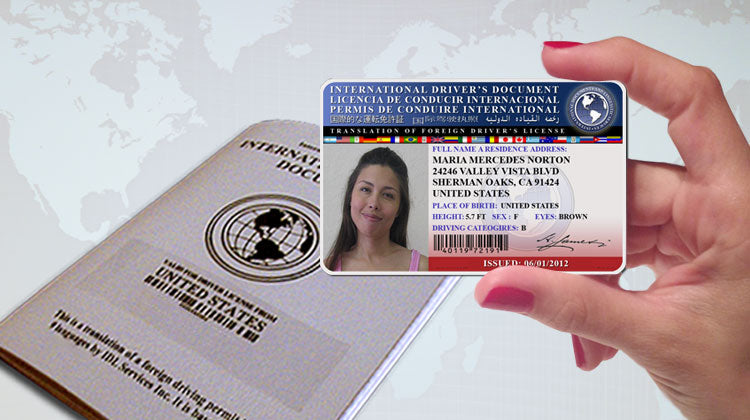 The International Driver's License of IDL Services Inc.