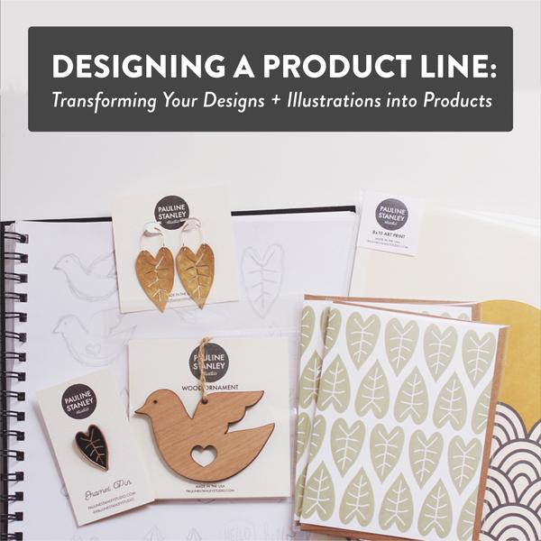 New Skillshare Class on Designing a Product Line