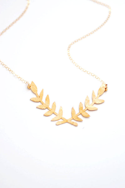 Laurel Wreath Necklace