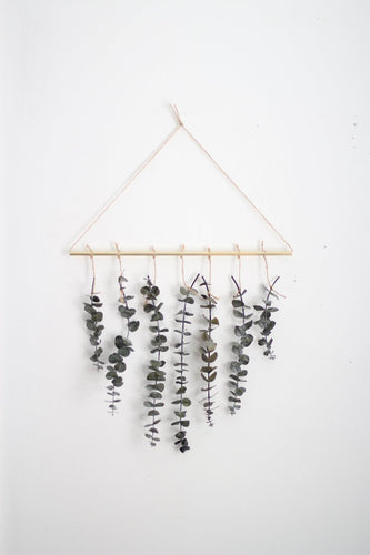 Eucalyptus Wall Hanging Kit | Eucalyptus Wall Decor | Scandinavian Decor | Minimalist Decor | Holiday Decor | DIY Kit | Plant Wall Decor