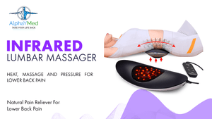 DR Lumbar Infrared Massager JKAH-2 - AlphaY Group