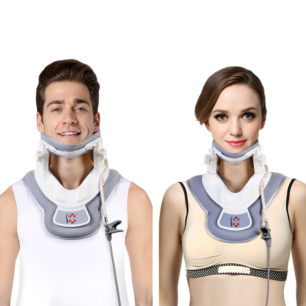 neck traction device 3000 fda approved patented in united states neck pain cervical pain