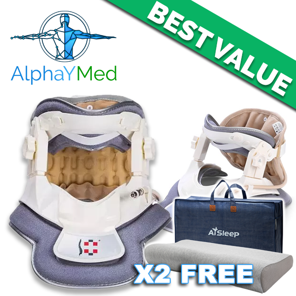 special offer neck traction device 3000 alphaymed