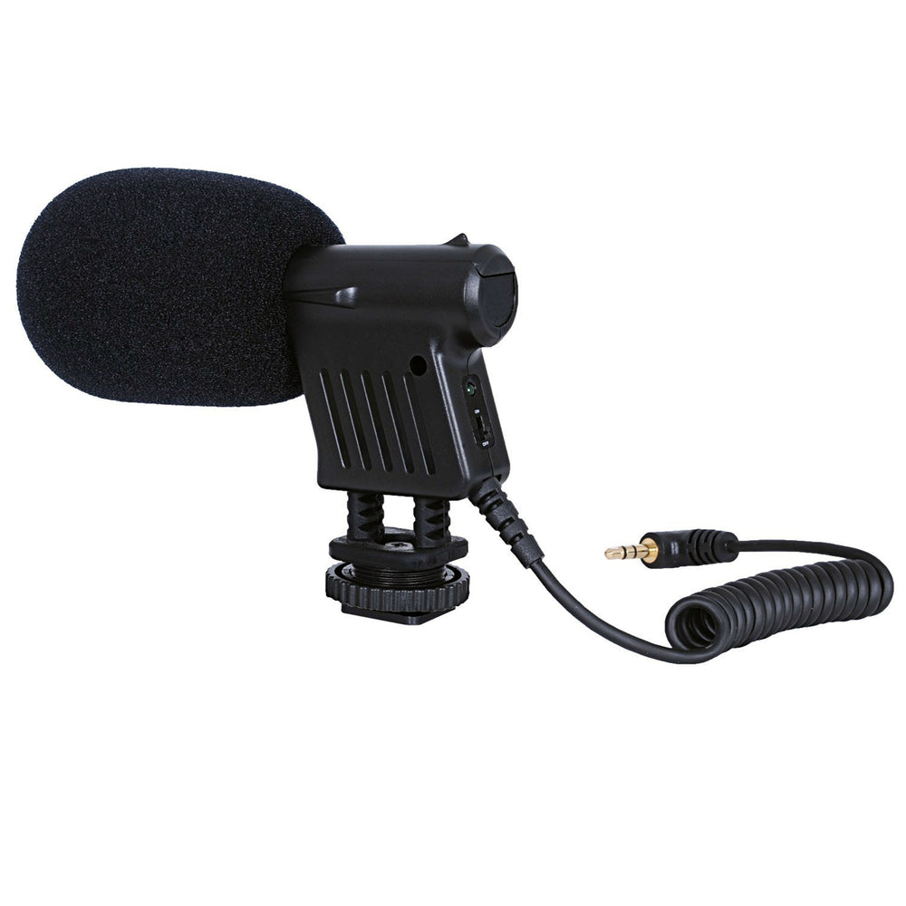Opteka VM-8 Directional Mini-Shotgun Microphone for DSLR Cameras and Camcorders