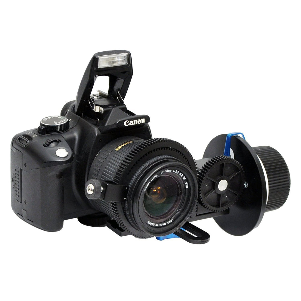 Opteka FF220 Rail-Free Reversible Follow Focus for Digital SLR Cameras