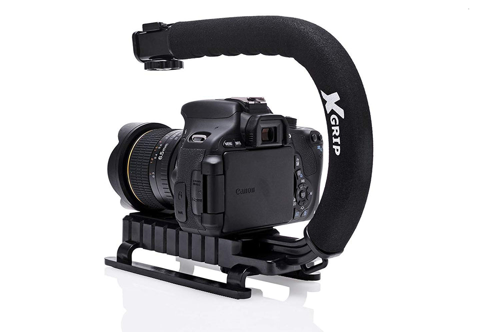 Opteka X-GRIP Professional Camera / Camcorder Action Stabilizing Handle