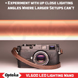 Opteka VL600 LED Professional Studio Handheld Filler Lighting Wand for Photography