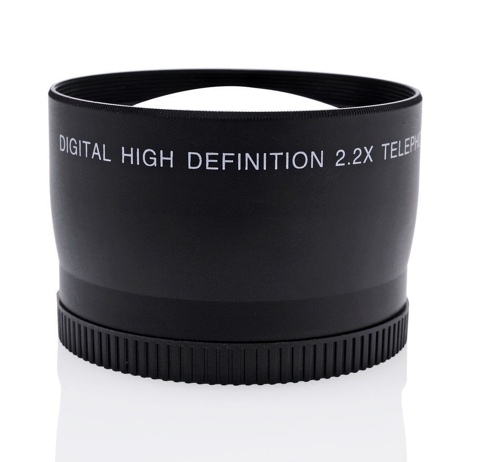 Opteka 52mm 2.2X HD Telephoto Lens for Digital Cameras