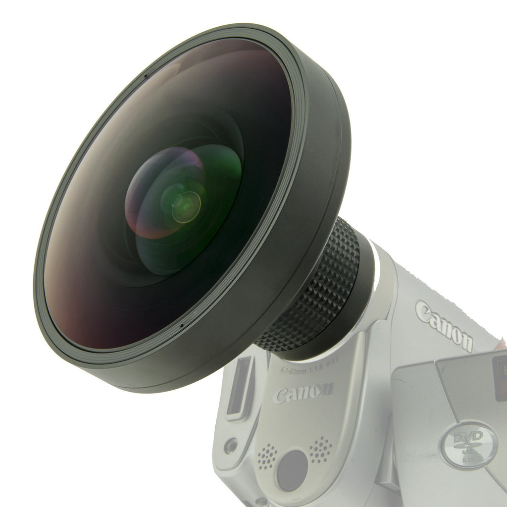 Opteka .5X High Definition II Wide Angle Lens for Any 37mm Digital Video Cameras