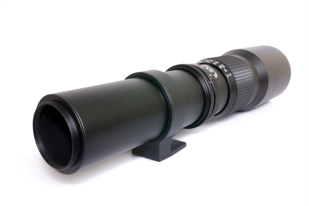 Opteka 500mm f/8 High Definition Preset Telephoto Lens