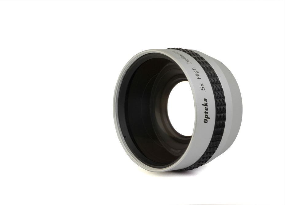 Opteka 37mm .5X HD Wide Angle Lens with Macro